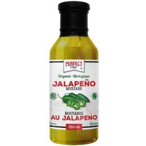 Perfect Chef Organic Jalapeno Mustard 350ml