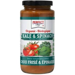 Perfect Chef Organic Kale & Spinach Pasta Sauce 740ml