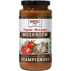 Perfect Chef Organic Mushroom Pasta Sauce 740ml