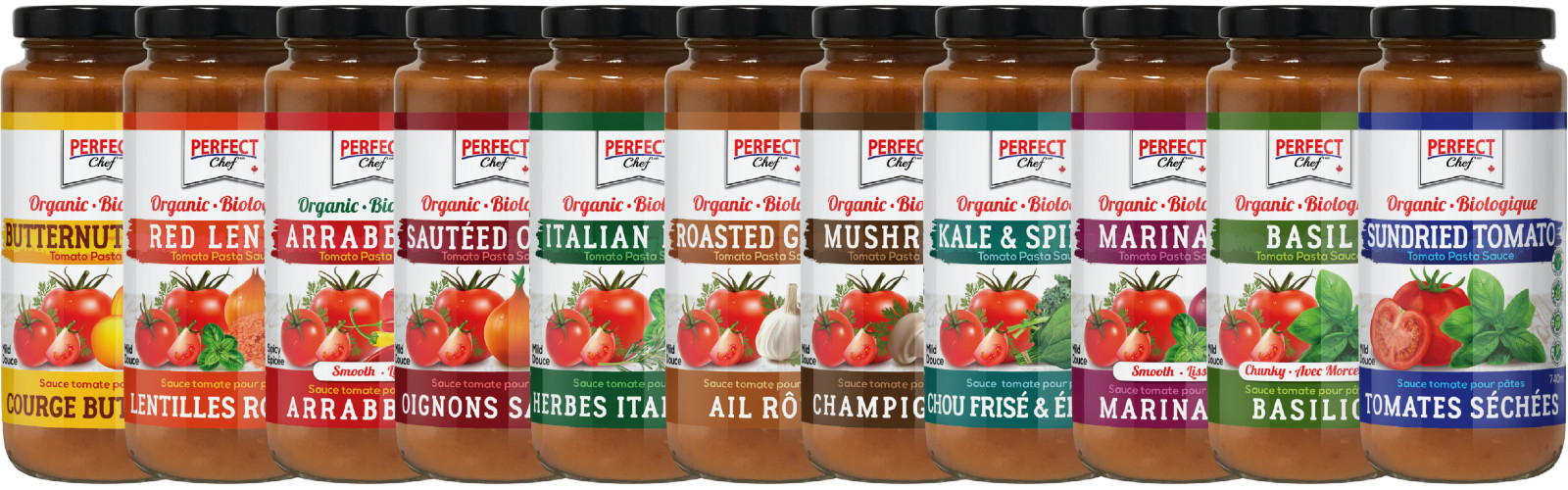 Perfect Chef Organic Pasta Sauce banner
