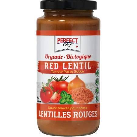 Perfect Chef Organic Red Lentil Pasta Sauce 740ml