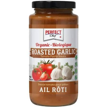 Perfect Chef Organic Roasted Garlic Pasta Sauce 740ml