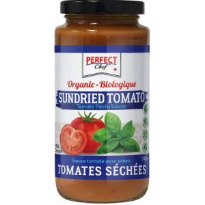 Perfect Chef Organic Sundried Tomato Pasta Sauce 740ml