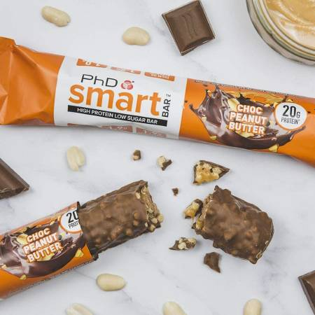 PhD Performance Nutrition Smart Bar Chocolate Peanut Butter 64g