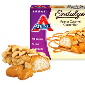 Atkins Endulge Peanut Caramel Cluster Bar