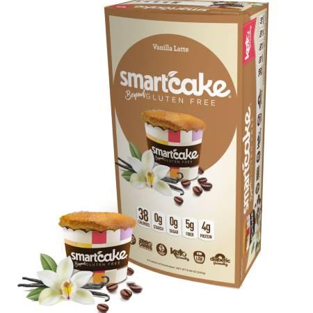 Smart Baking Company Smart Cake Vanilla Latte Box of 8