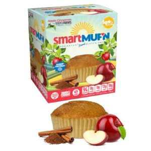 Smart Baking Company Smart Muffin Apple Cinnamon Box of 3