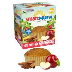 Smart Baking Company Smart Muffin Apple Cinnamon Box of 3