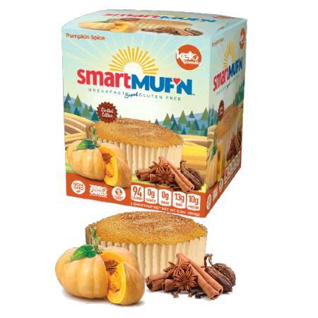 Smart Baking Company Smart Muffin Pumpkin Spice Box of 3