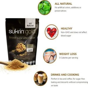 Sukrin Gold All Natural Brown Sugar Alternatives 250g, is suitable for phase 1 and 2.