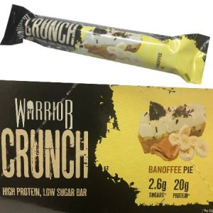 Warrior Crunch Protein Bar Banoffee Pie 64g