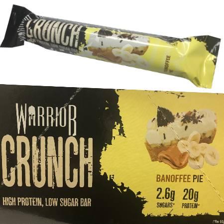 Warrior Crunch Protein Bar Banoffee Pie 64g